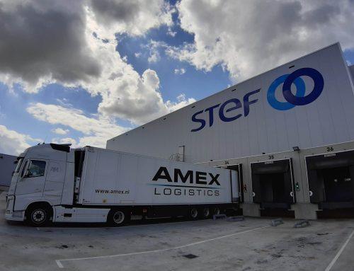 Amex Logistics is de huisvervoerder van STEF