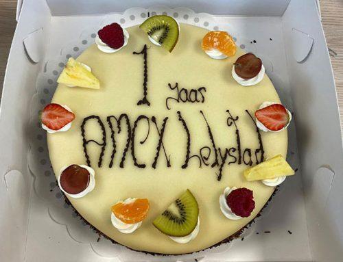 1 jaar Amex Lelystad!